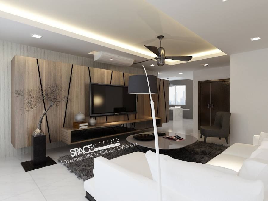 Modern concept palm gardens interior design singapore for Living room interior design singapore