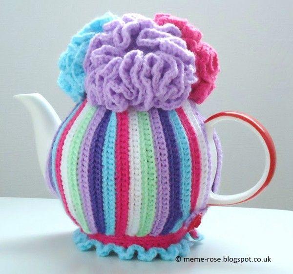 Crochet Tea Cosy | crochet kitchen | Pinterest