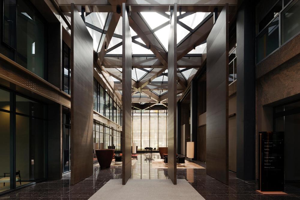 Interior Pivot Doors – the New Atrium by Fritsjurgens #architonic #nowonarchitonic #interior #design #furniture #pivot #doors