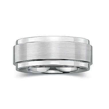jcp | BEST VALUE! Mens 8mm Comfort-Fit Ring in Tungsten