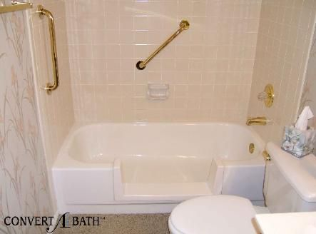 Convert Tub Into Shower Google Search Bathrooms