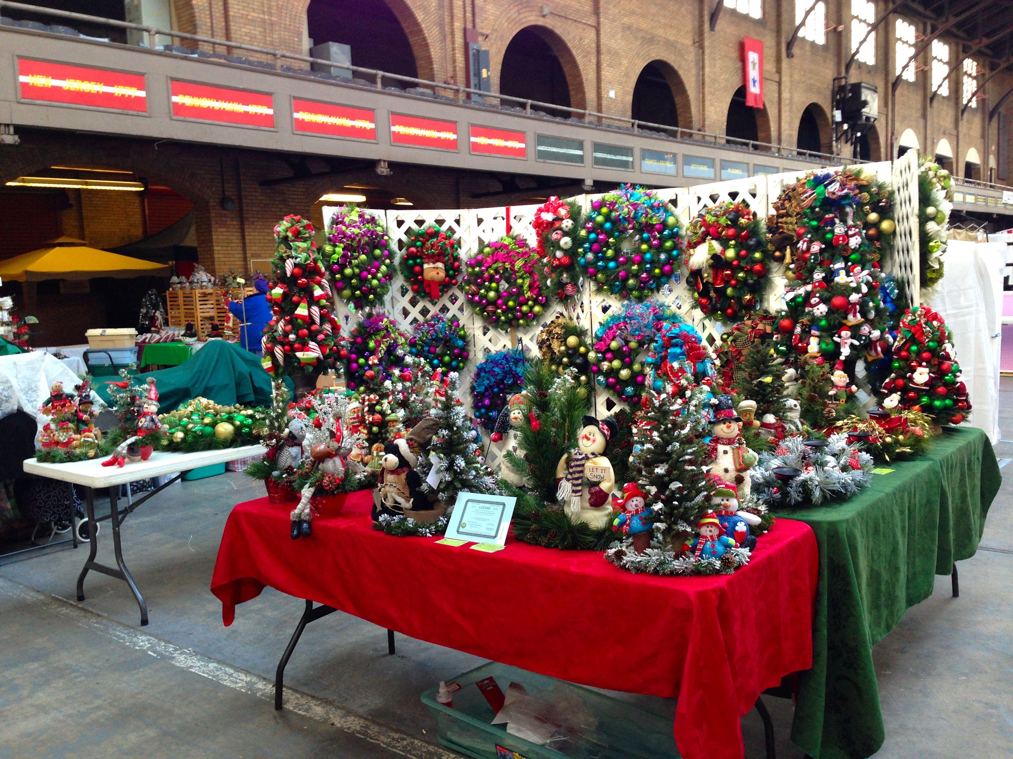 Art Craft Show Display Ideas Wreaths