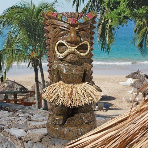 Found It At Wayfair   Pau Hana Hawaiian Tiki Totem Statue