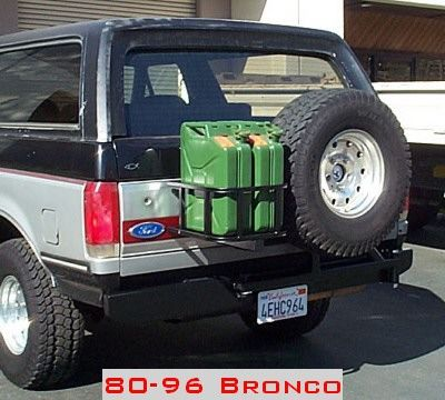 My New Jerry Cans Ford Bronco Forum 4x4 Ford Bronco