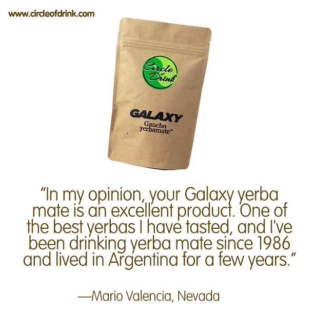Our Galaxy Yerba Mate allows you to experience mate, the Gaucho Way. check circleofdrink.com/shop/galaxy-yerba-mate #yerbamate #circleofdrink #tea #organic #health #vegan #nomnom