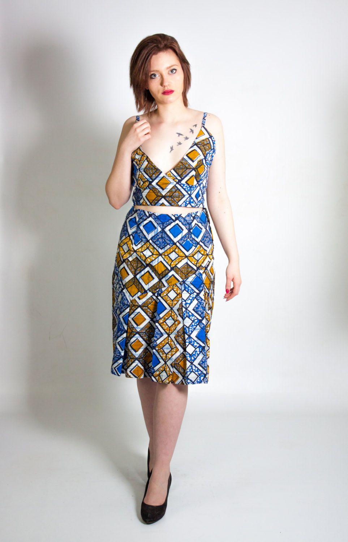 ensemble top jupe pagne de la boutique beautifulpagne sur Etsy | Jupe pagne