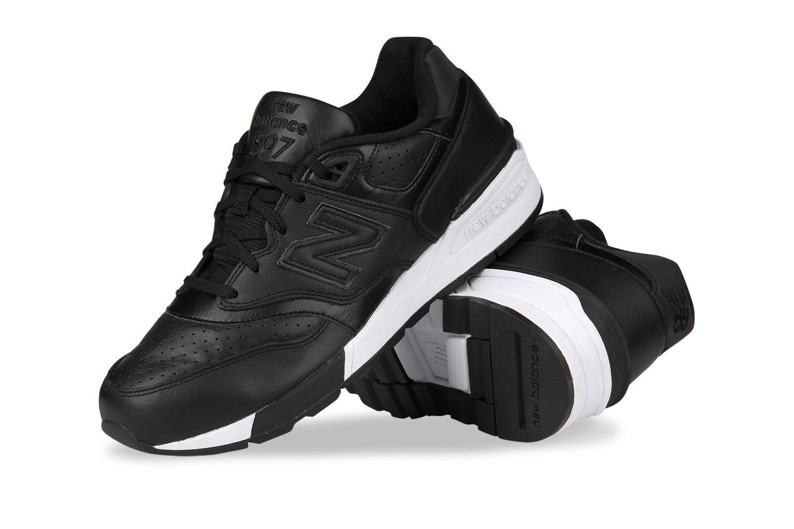 Buty Meskie New Balance Model Ml597bll W Kolorze Czarnym Material Wykonania Najwyzszej Jakosci Skora Naturalna Oraz Mater Saucony Sneaker Shoes Sneakers