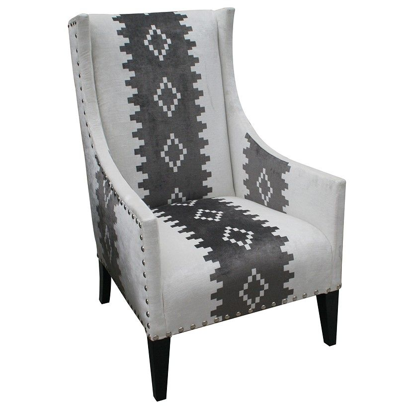 Andrew Martin Pluto Chair. The Basic Black And White