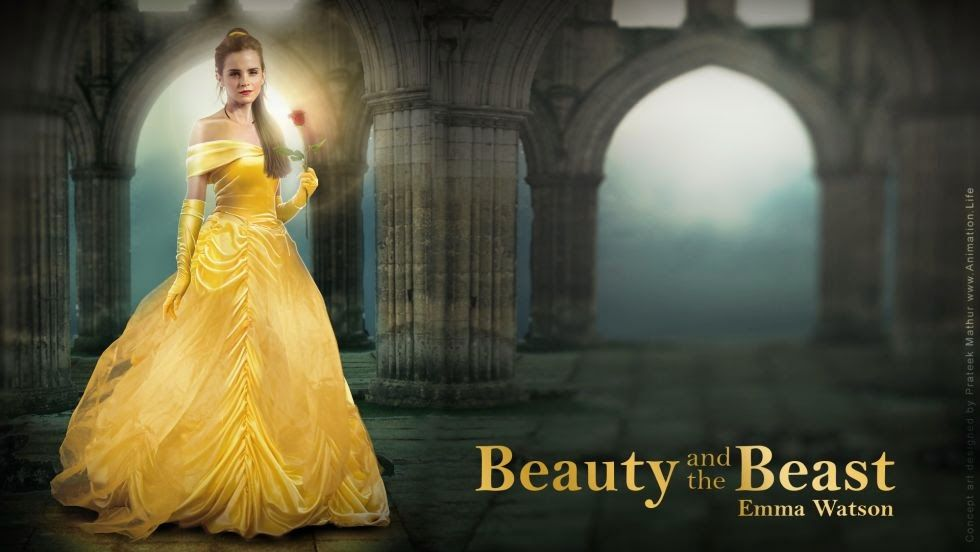Resultado de imagem para beauty and the beast movie cast