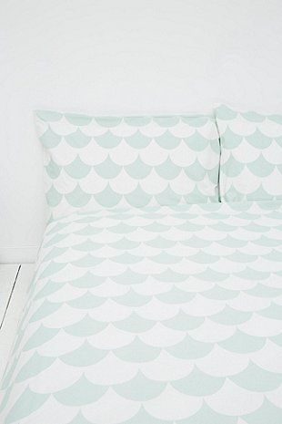 Scallop Mint Duvet Set Duvet sets, Duvet and Bedrooms - Bobs Furniture Bedroom Sets