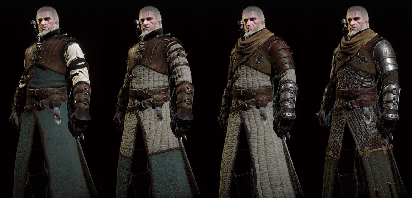 Witcher  Bear Armor Build