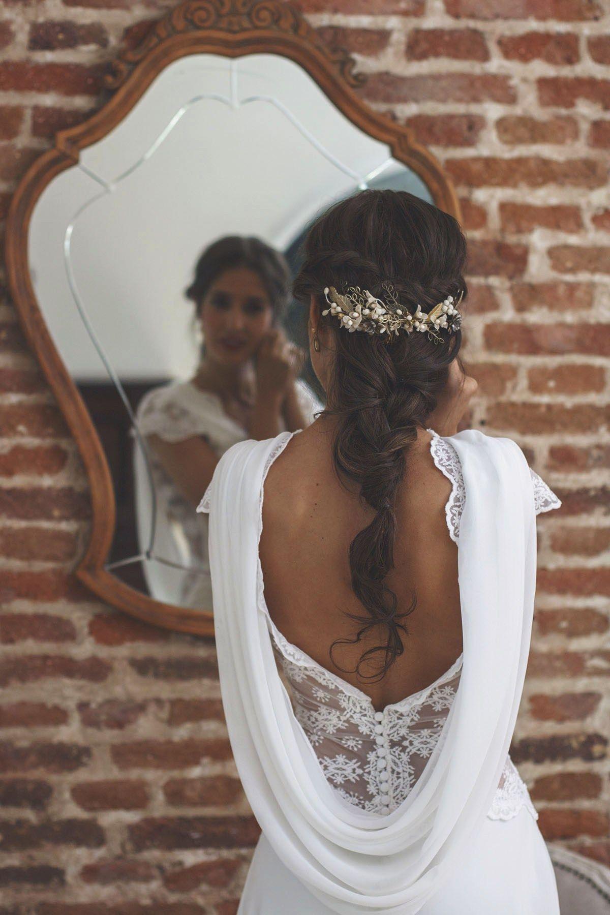 Gran escote trasero # vestido de novia # casarse