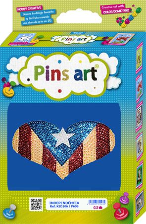 Kit Pins Art Estelada - DIY - Hand made with love
