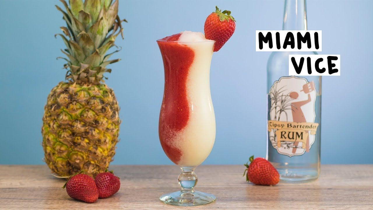 Miami Vice - Tipsy Bartender - #bartender #miami #tipsy - #FunCocktailRecipes