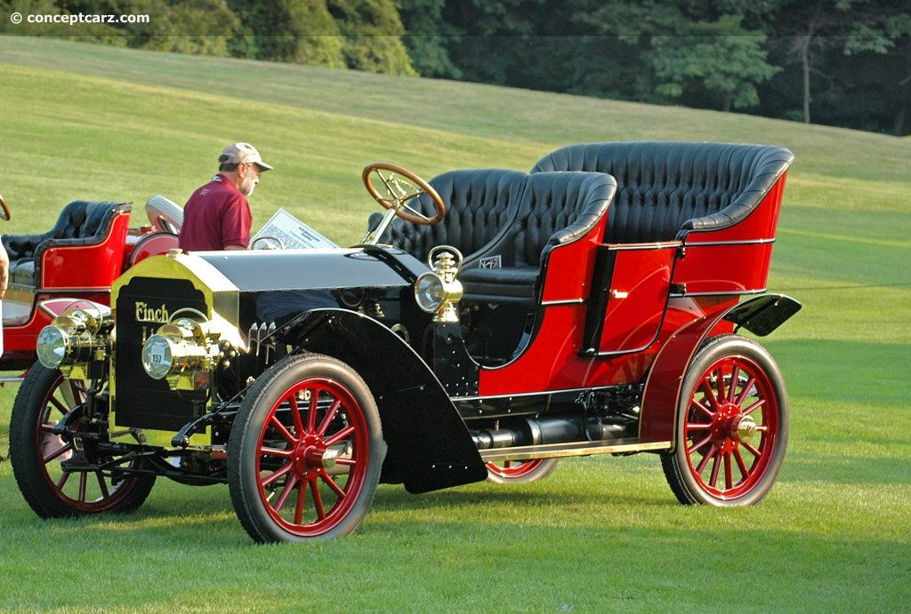 Pung-Finch Limited Touring Car 1906 - Pungs WA and his son-in-law EB ...