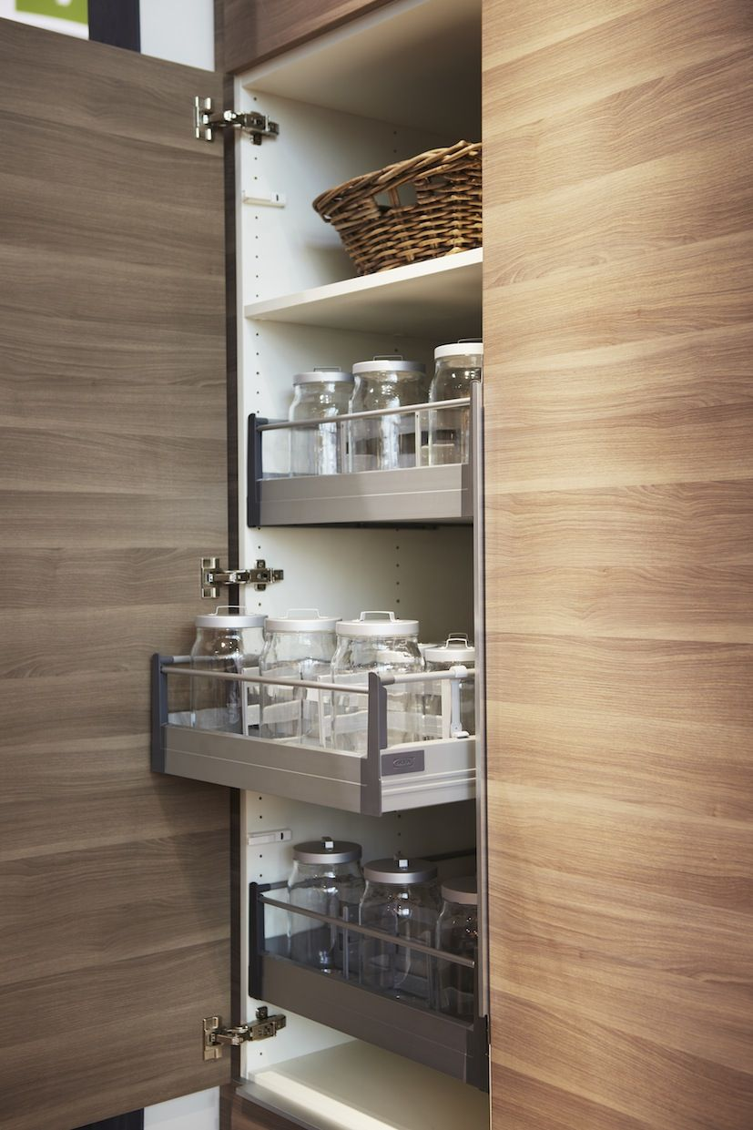Uncategorized Kitchen Cabinets Fittings our walnut effect light grey sofielund kitchen doors and rationell interior fittings are the perfect storage