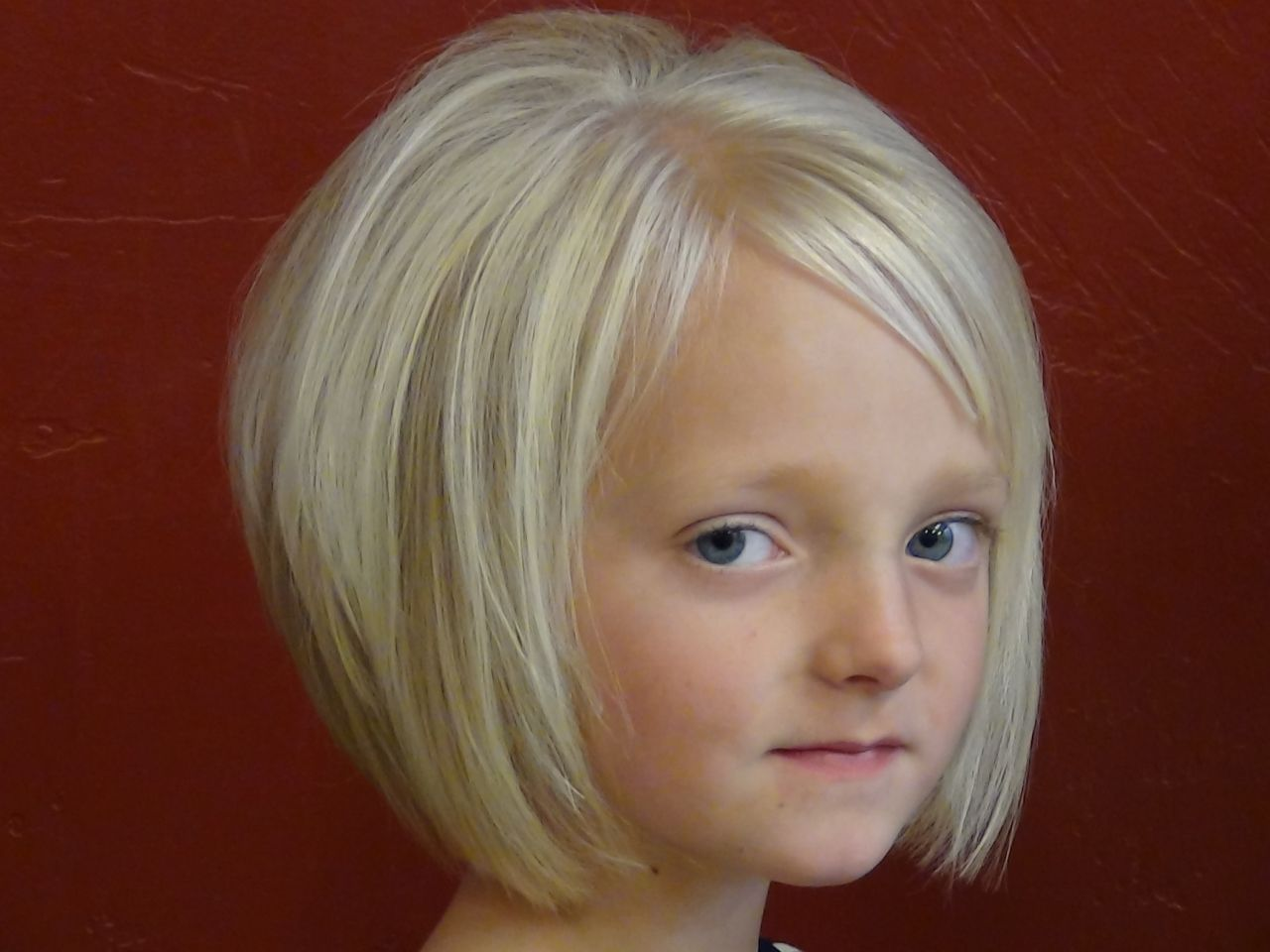 Astonishing 1000 Images About Kids Hair Cuts On Pinterest Little Girl Bob Short Hairstyles For Black Women Fulllsitofus