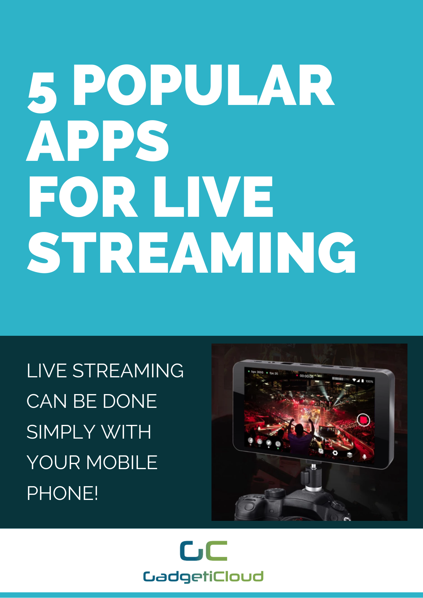 5 Popular Apps For Live Streaming Streaming Live Streaming Popular Apps