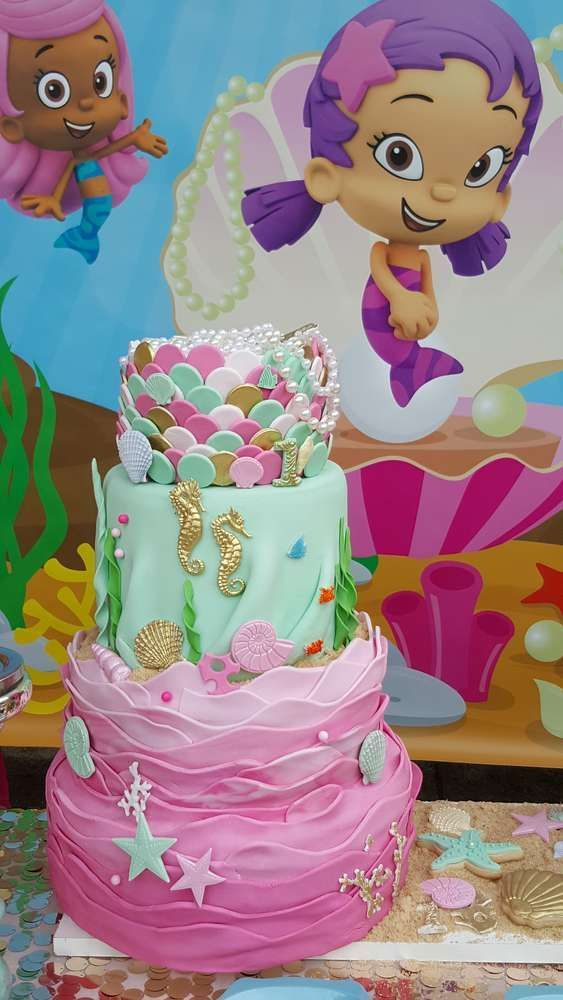 Whimiscal Under The Sea Birthday Party Ideas Bubble Guppies