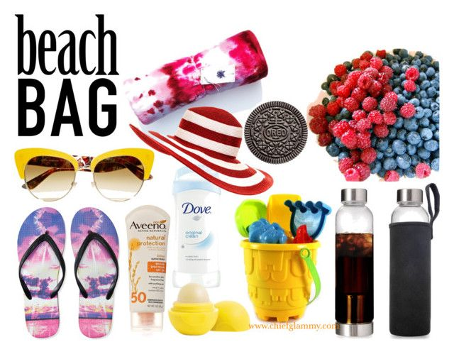 What's in your beach bag mommy? by glamchicq8 on Polyvore featuring Aéropostale, Salsa, Dolce&Gabbana and Aveeno