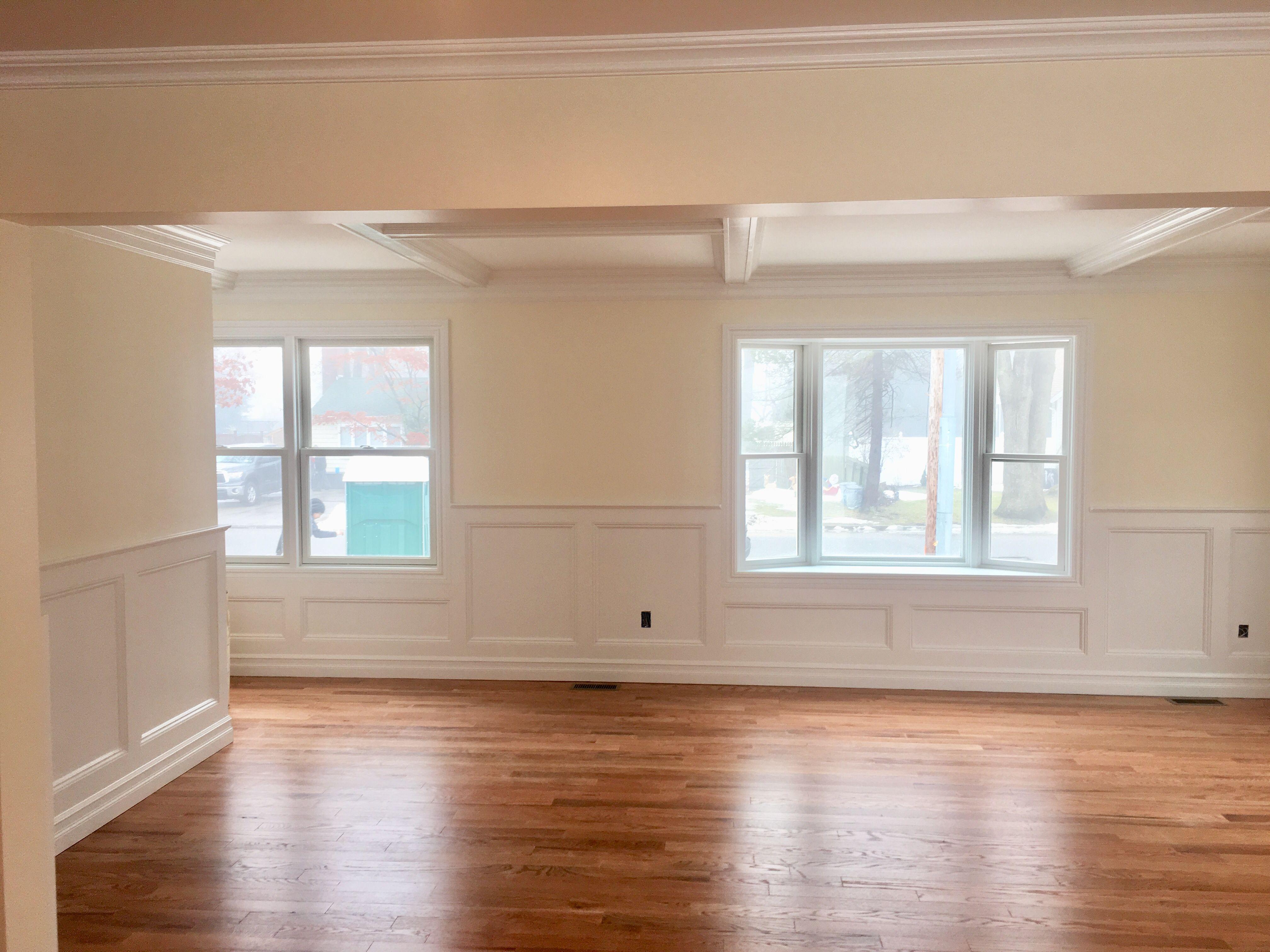 Walls Linen White 912 Matte Finish Ceilings Regal Select White Flat Trim Regal Select White Semi Gloss White Linen Home White