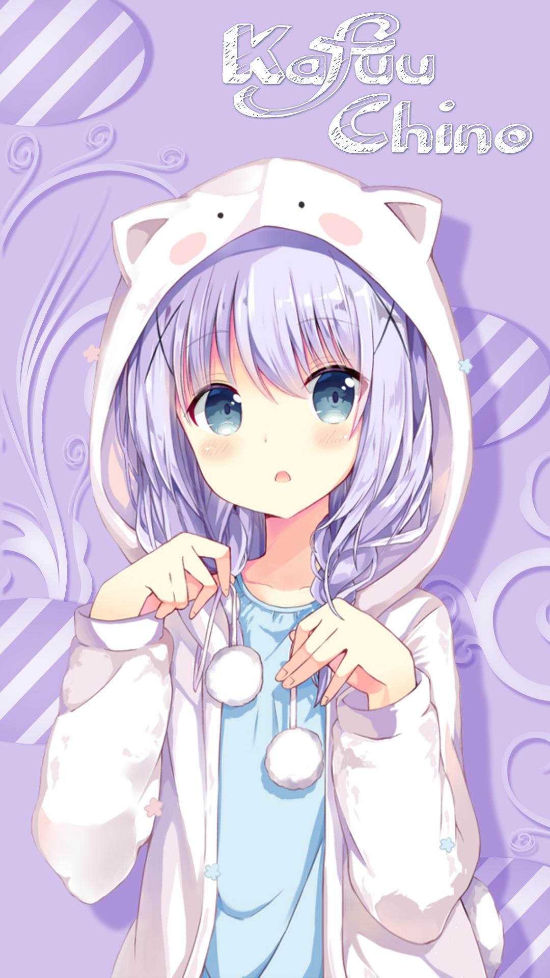 Kafuu Chino Wallpaper Android Anime