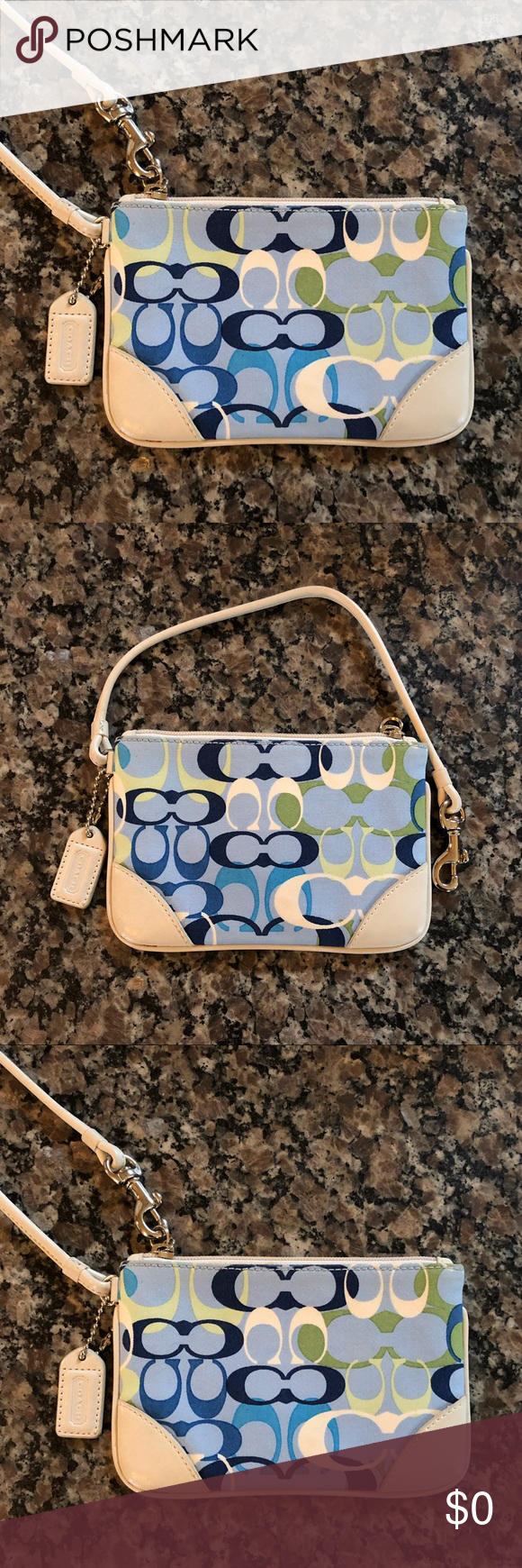 e7da92a7e53 ... shopping coach unique limited edition wristlet. gorgeous guaranteed  authentic or your money is refunded in