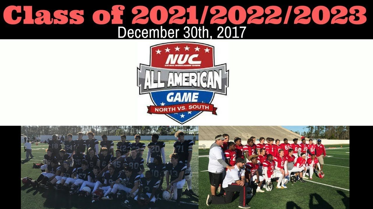 NUC All American Football Game Class of 2021/2022/2023