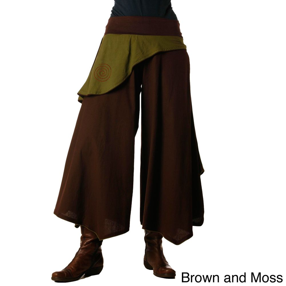 Womenus butterfly panel pants nepal overstock shopping the