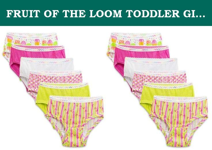 912205e60202 FRUIT OF THE LOOM TODDLER GIRLS HIPSTER PANTIES 12-PK ASSORTED (2T/3T).  These Fruit Of The Loom 100% Cotton Toddler Hipsters Girls Is Perfect For  Your ...