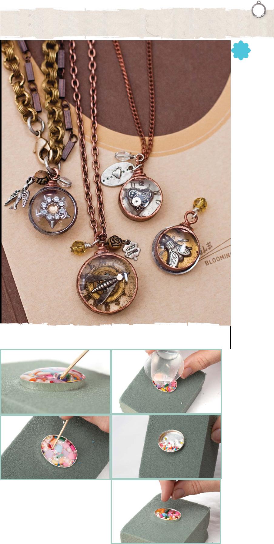 exploring resin jewelry resin metal and solder work pinterest bijoux cr ation bijoux et. Black Bedroom Furniture Sets. Home Design Ideas