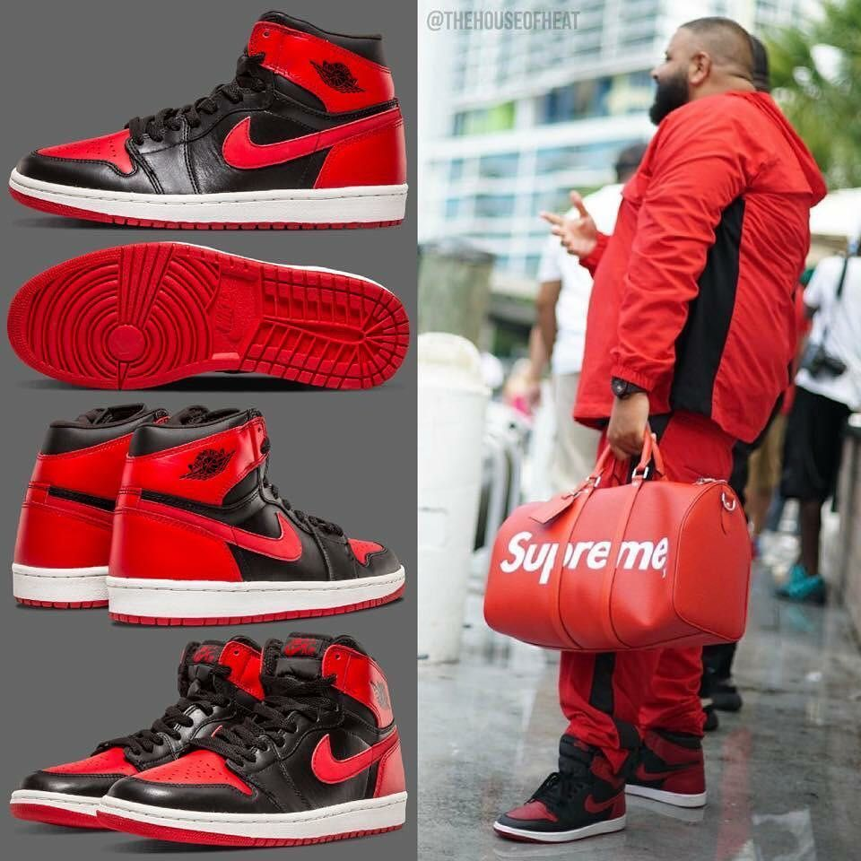 Air Jordan 1 - DJ Khaled outfit - #air