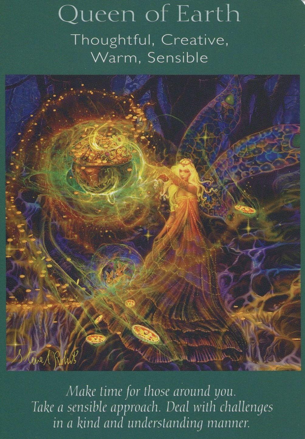 Angel Tarot Cards - Queen Of Earth