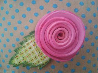 Tutoriales de flores de crochet, goma eva y de reciclaje   Aprender manualidades es facilisimo.com