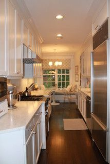 Gally Kitchen Recessed Lighting With Images Galley Kitchen