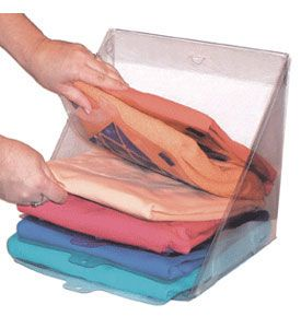 Good Neatly Organize Folded Piles Of Clothing Or Linens In A Closet With The  Slide N Stax. Sweater StorageT Shirt ...
