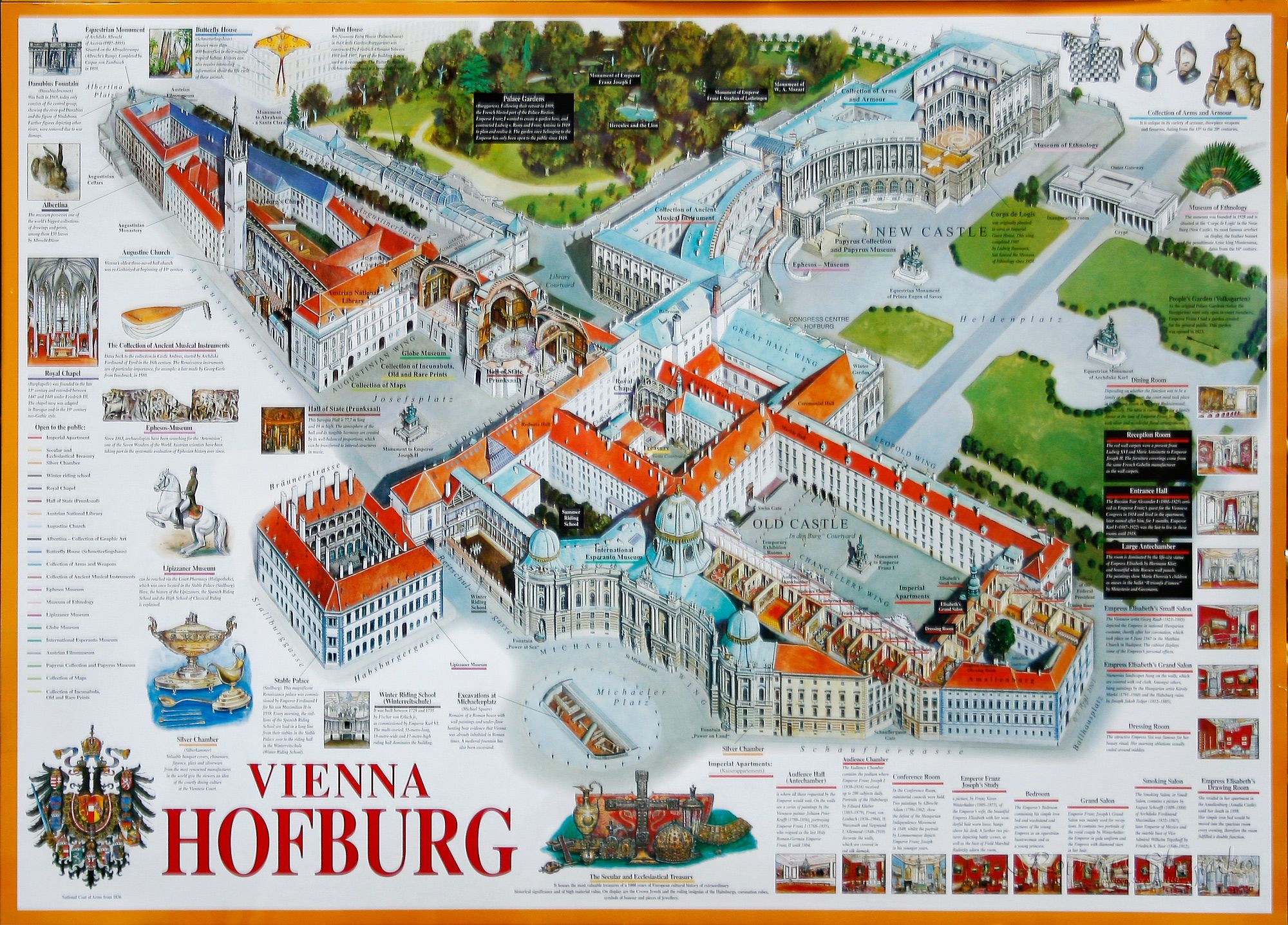Map Of The Hofburg Palace The Dark Before Dawn Vienna
