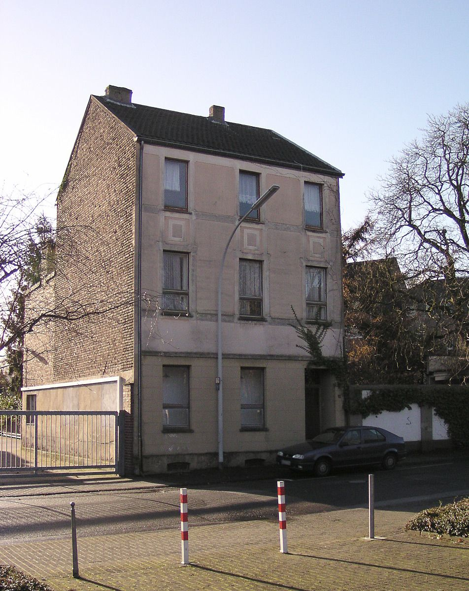 Gregor Schneider, Haus ur at the Unterheydener Straße in Mönchengladbach-Rheydt