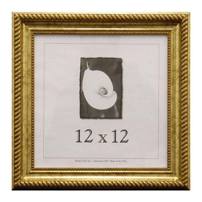USA Napoleon Picture Frame (12 x 12-inch Image Size) (Black with ...
