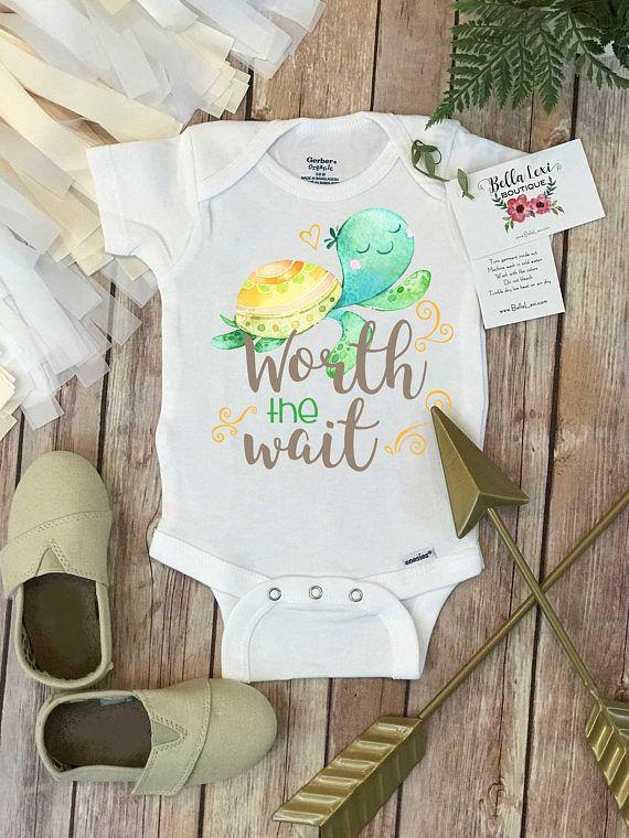 Rainbow Baby Onesie Worth The Wait Special Baby Gift Rainbow
