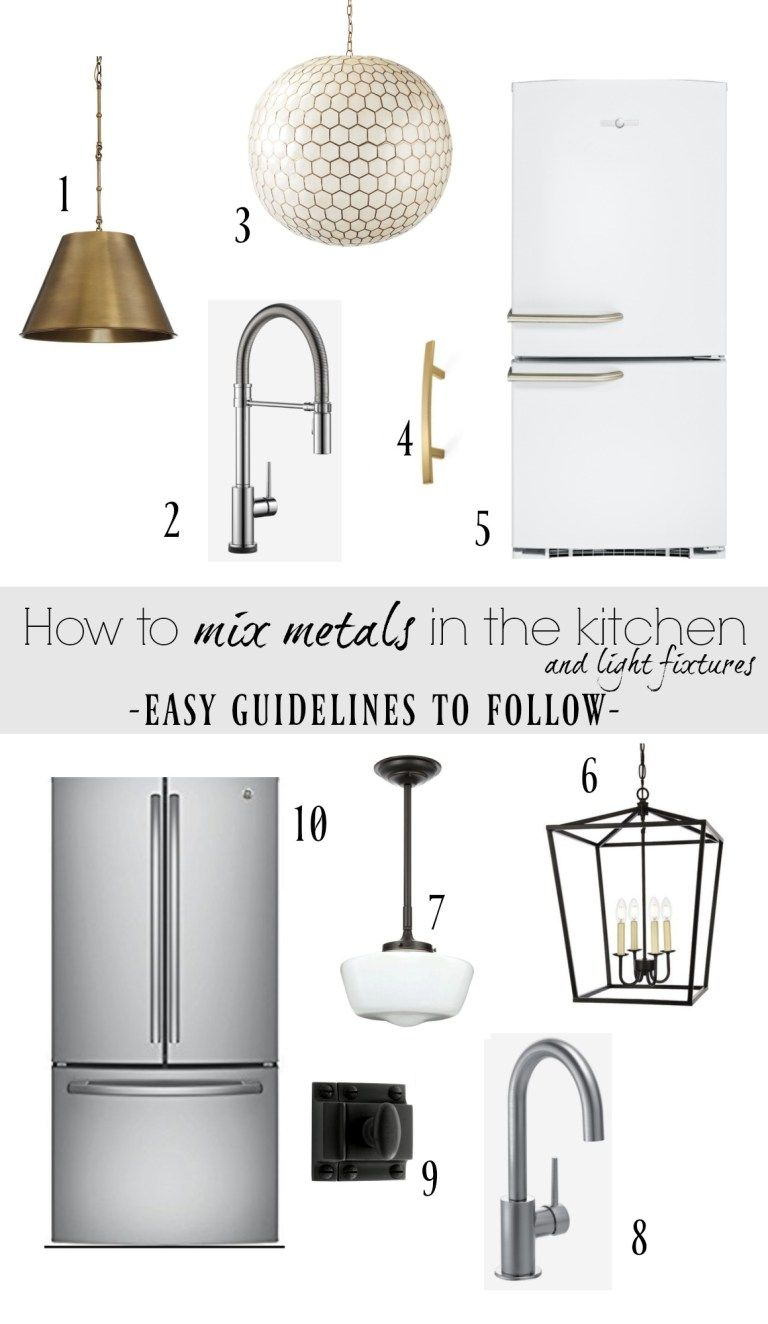 Photo of How to mix metals in the kitchen and in our kitchen tap – Nesting With Grace