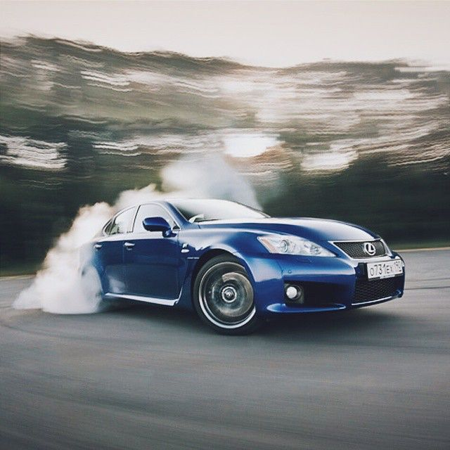 Smokey. #lexus #isf #impressivewhips