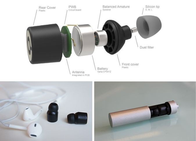 Earin - The Worlds Smallest Wireless Earbuds - Internal Components ... 6989a1654350d