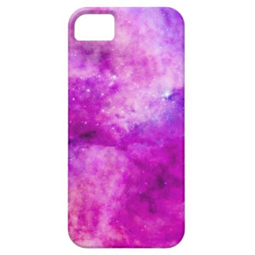 For all princesses! Pretty pink case. Galaxy Pink Purple Nebula Clouds Stars Case For iPhone 5/5S
