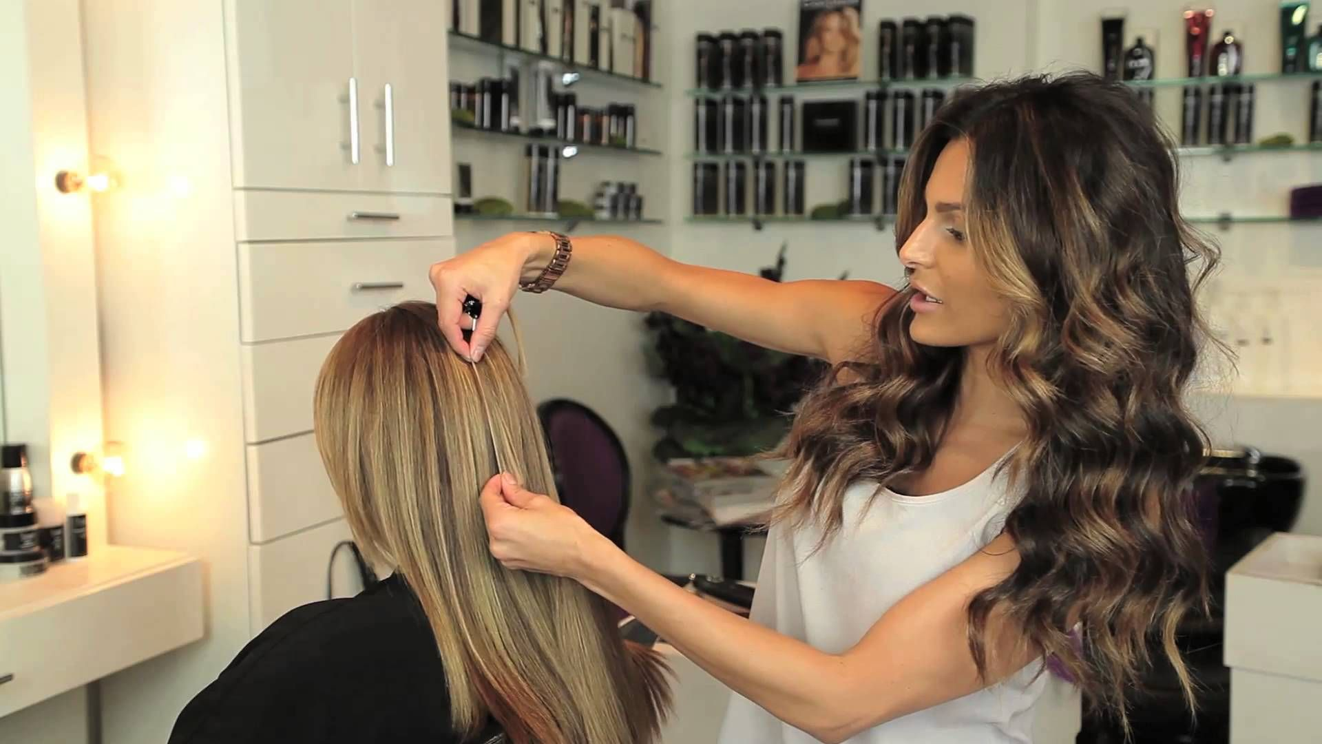 How To Color Match Cashmere Hair Clip In Extensions Youtube Hair