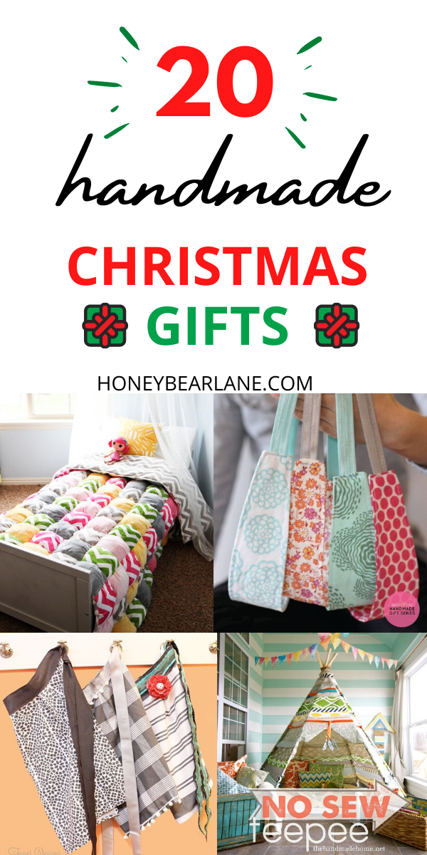 20 Handmade Christmas Gifts To Sew Now In 2020 Sewing Christmas Gifts Handmade Christmas Presents Handmade Christmas