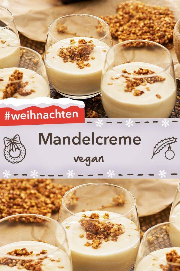 vegane mandelcreme rezept in 2019 vegetarische und. Black Bedroom Furniture Sets. Home Design Ideas