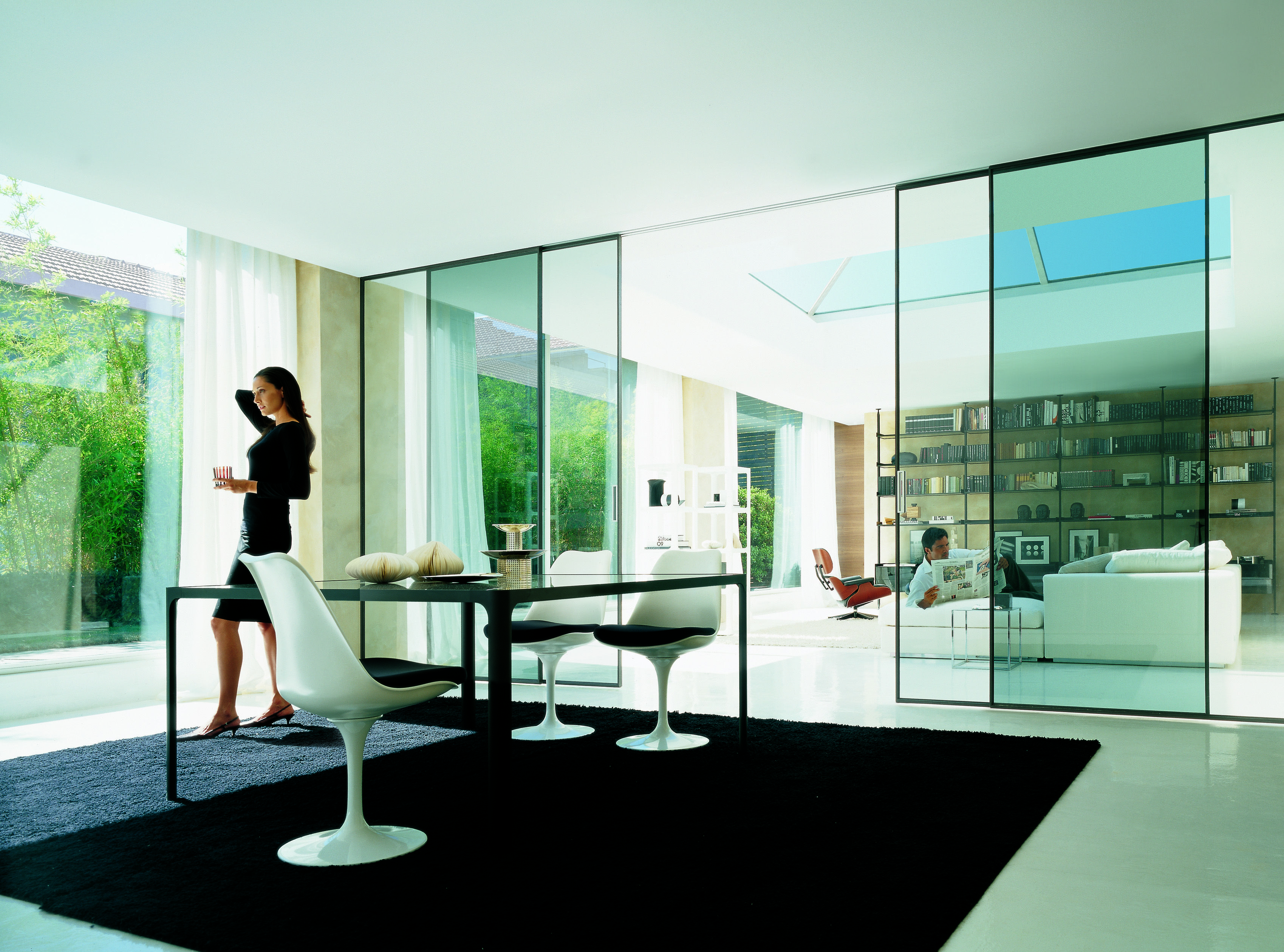 Porte Scorrevoli Rimadesio Outlet.Rimadesio Velaria Sliding Doors Rimadesio Produces Systems For