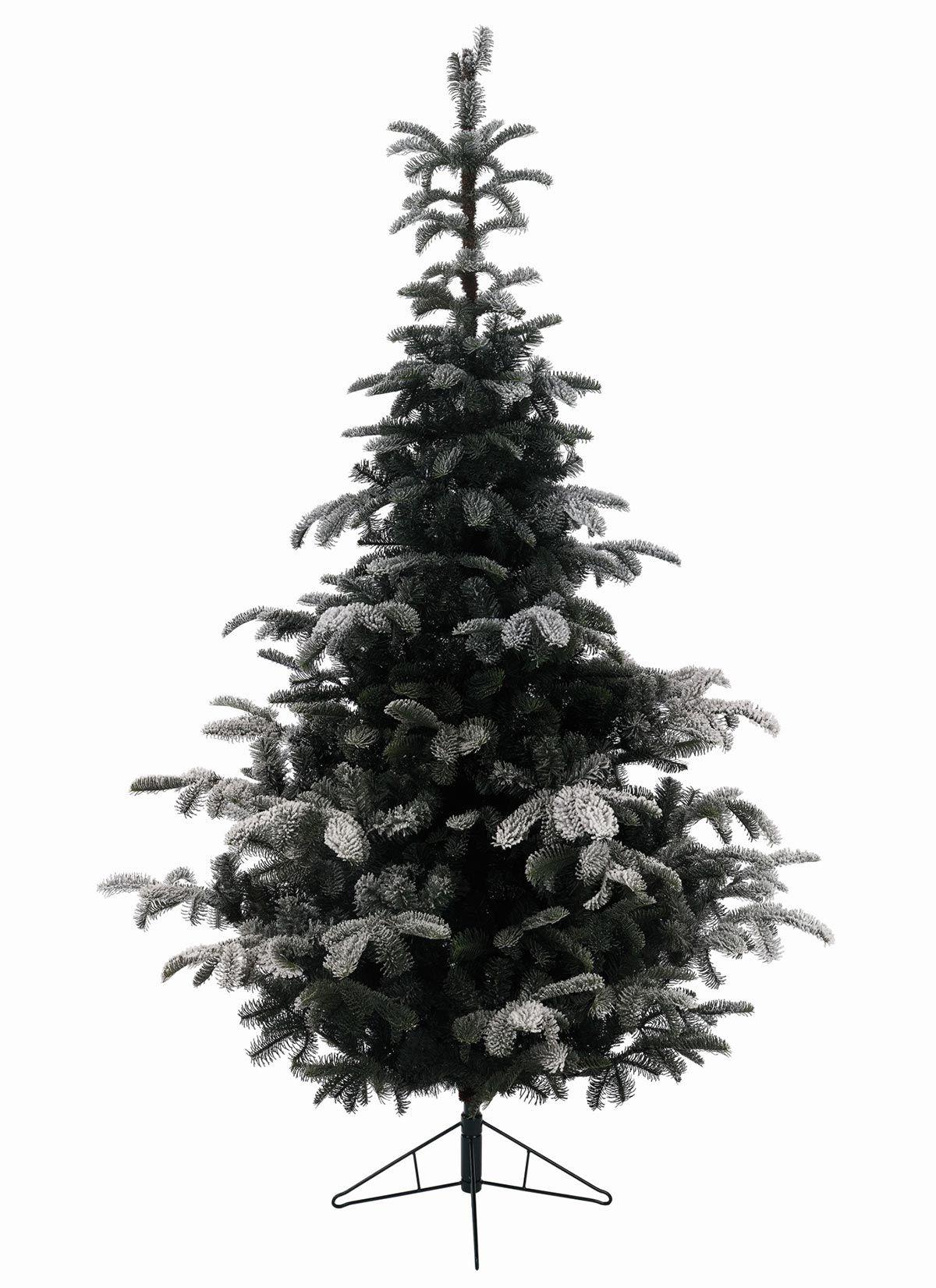 12ft Snowy Nordmann Fir Feel-Real Artificial Christmas Tree ...