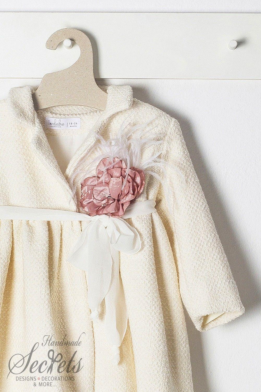 ac614111e5f8 Παλτό της Bambolino για κορίτσια σε εκρού απόχρωση